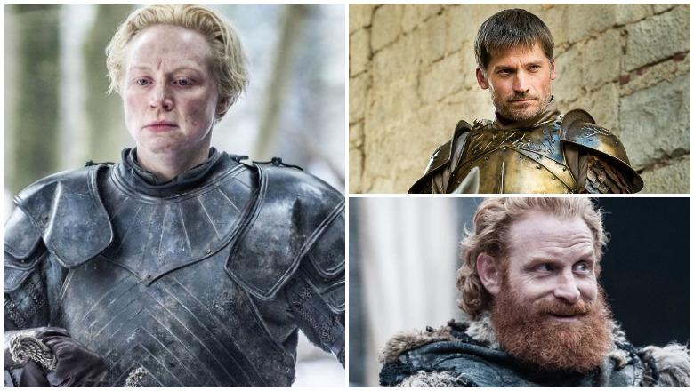 Brienne, Jaime and Tormund