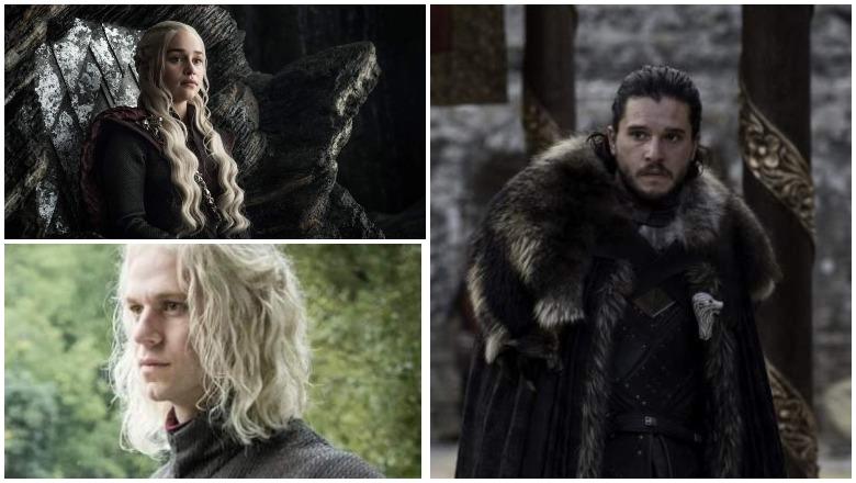 Rhaegar, Daenerys, Jon Snow