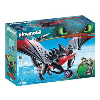 Playmobil How to Train Your Dragon 3 Deathgripper with Grimmel