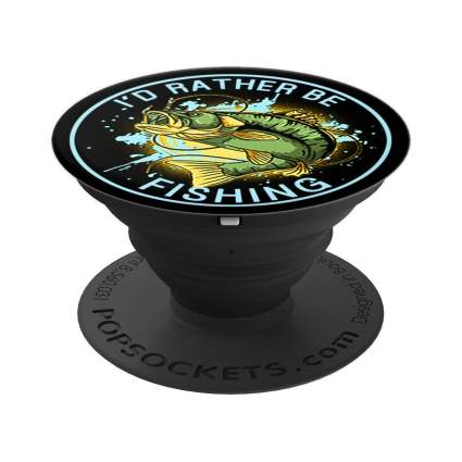 I'd Rather Be Fishing PopSockets Grip