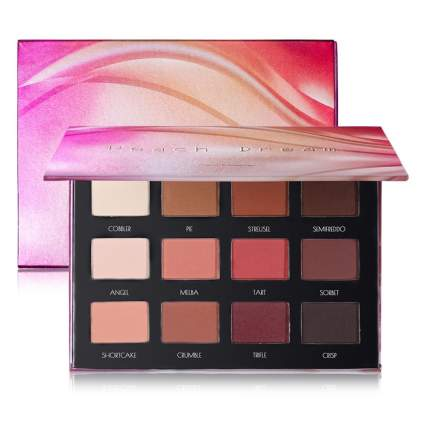 peach matte eyeshadow palette
