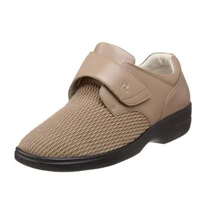 tan stretch walking shoes