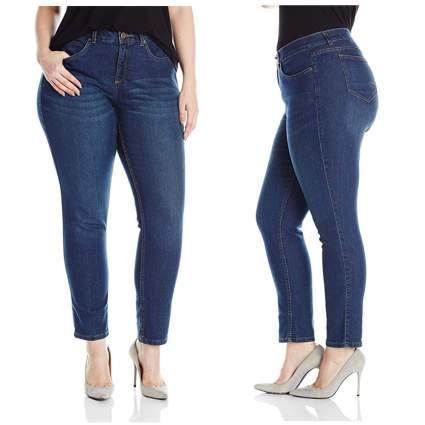 denim slim fit skinny leg jeans