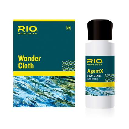 Rio Wonder Cloth & AgentX Fly-Line Cleaning Kit