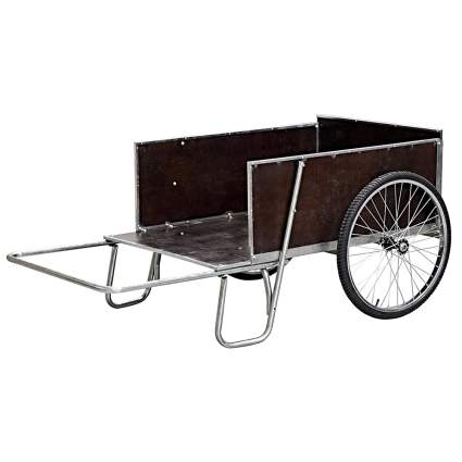 open front garden cart