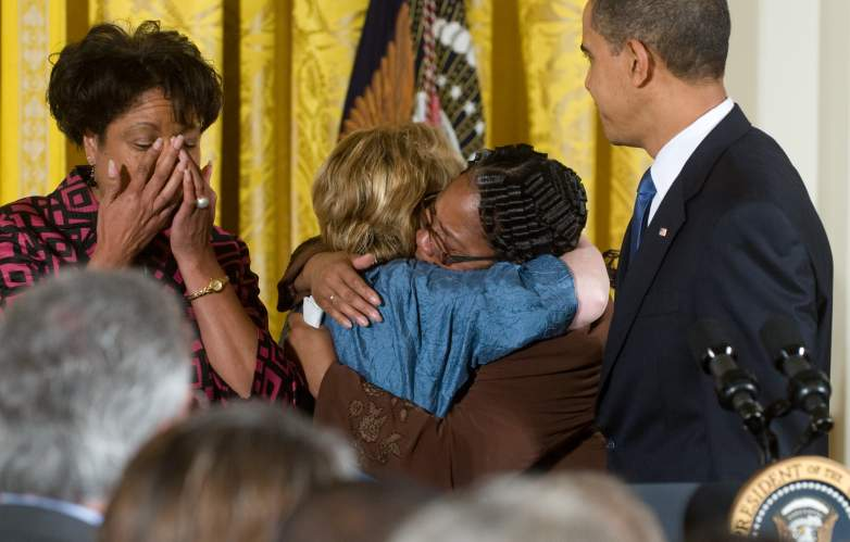 obama byrd shepard family