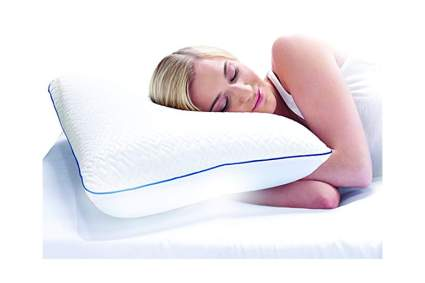 cool gel memory foam cold pillow