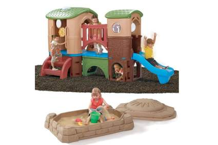 Step2 Clubhouse Climber and Sandbox Combo
