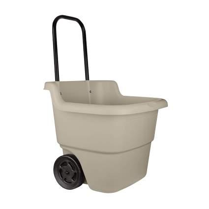 resin upright garden cart