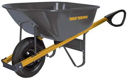 The Ames Companies, Inc R6TC14 True Temper Total Control Steel Wheelbarrow