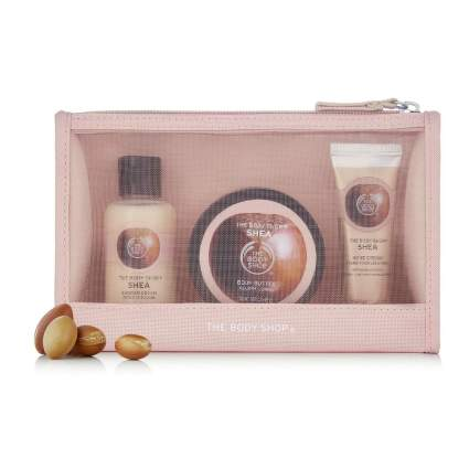 pink gift set of lotion