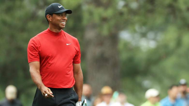 tiger woods wins masters