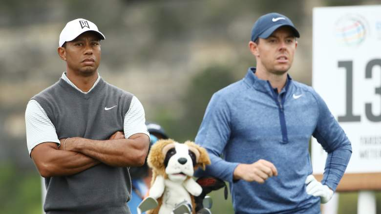 Tiger Woods Rory McIlroy Masters tee times round two