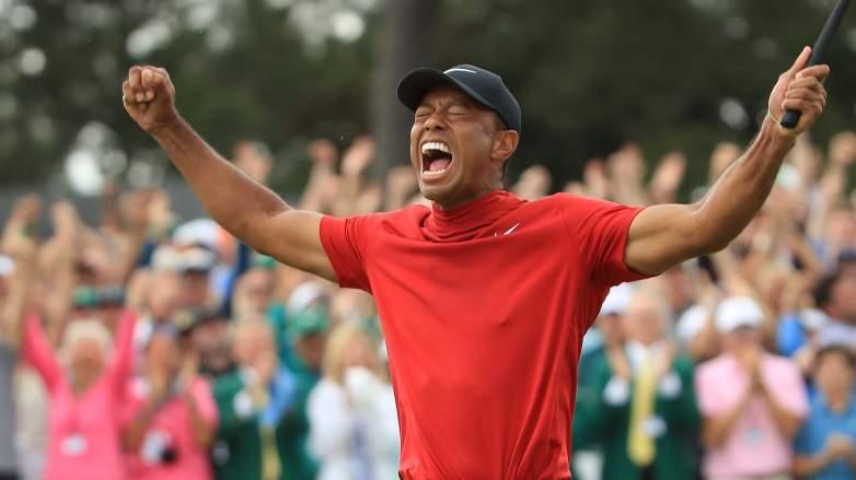 Tiger Woods Donald Trump tweet masters win