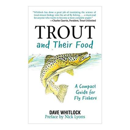 trout and their food fly fishing book