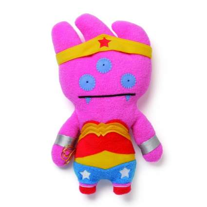 Uglydoll DC Comics from Gund Tray as Wonder Woman 11 inch