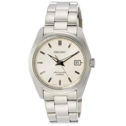 Seiko Men's Japanese-Automatic Watch with Stainless-Steel Strap