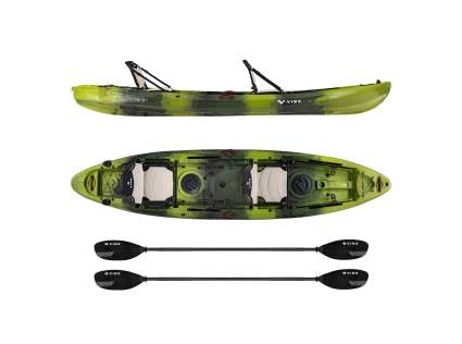 Vibe Kayaks Yellowfin 130T 13 Foot Tandem Angler Kayak