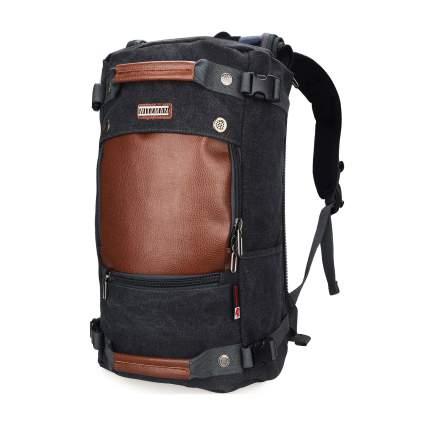 WITZMAN Men's Vintage Travel Backpack/Duffel Bag