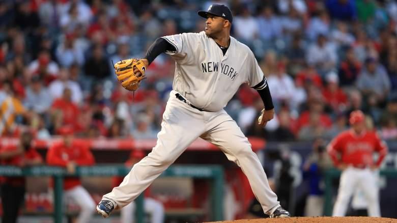 Yankees CC Sabathia 3000th Strikeout