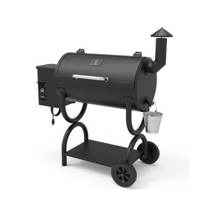 Z GRILLS 7-in-1 BBQ Smoker Wood Pellet Grill