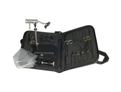 Zephr Travel Fly Tying Kit With Pedestal & Clamp Base