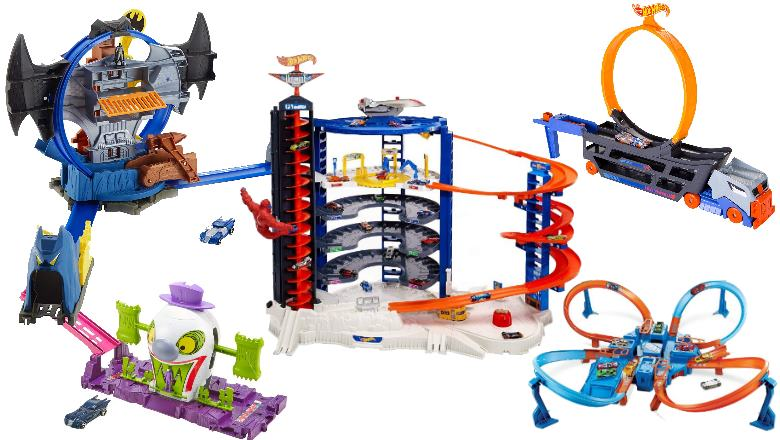 BRAND NEW Hot Wheels Track Builder System Race Crate Toy Cars Playset Kids Fun