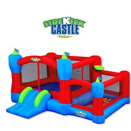 Blast Zone Sidekick Bounce House, Ball Pit, Slide and Hoop