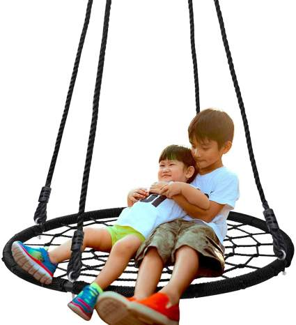 SUPER DEAL 40'' Spider Web Tree Swing