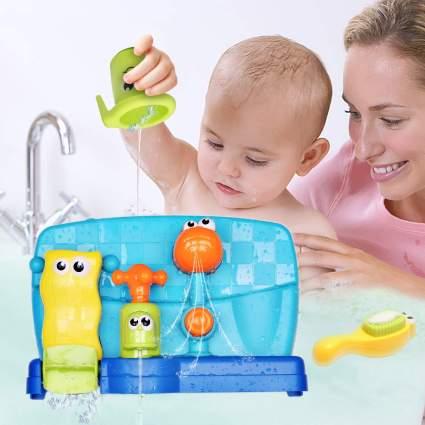 Happkid Bath Toy Baby Bathtub Water Sensory Toy