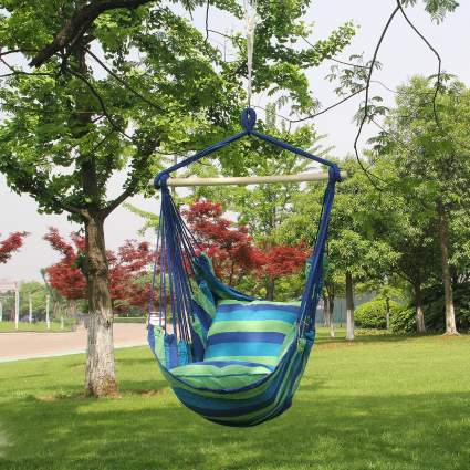 Sorbus Hanging Rope Hammock Chair