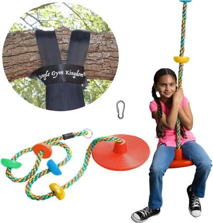 Jungle Gym Kingdom Tree Swing