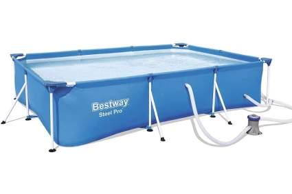 Bestway Steel Pro 9.8ft x 5.6ft x 26in Rectangular Pool