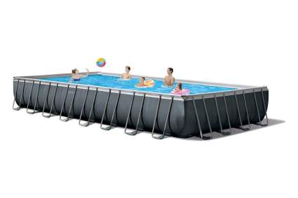 Intex 26373EH Ultra XTR Set Above Ground Pool, 32ft X 16ft X 52in