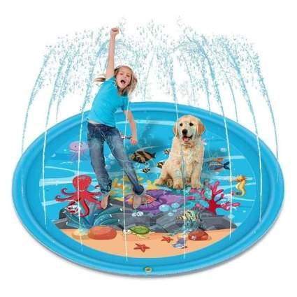 Splash mat for kids