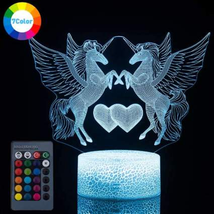 Koyya 3D Unicorn Night Light