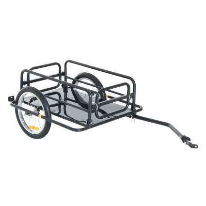 Aosom Wanderer Folding Bicycle Cart