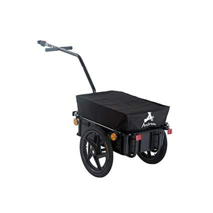 Aosom Enclosed Bicycle Cargo Trailer