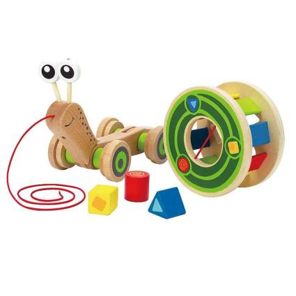 Award Winning Hape Walk-A-Long Snail