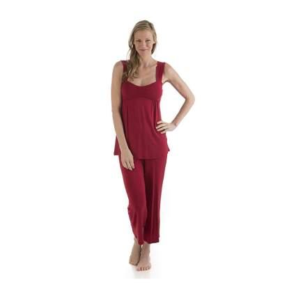 red bamboo pajamas