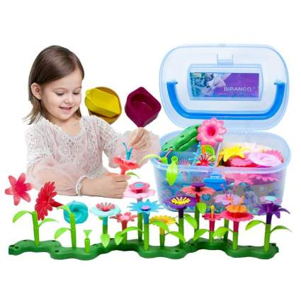 BIRANCO. Flower Garden Building Toys
