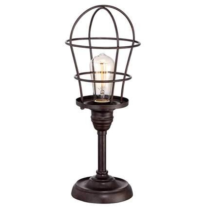 bronze industrial table lamp