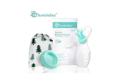 Bumblebee Silicone Manual Breast Pump