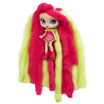 """Candylocks, 7"""" Straw Mary, Sugar Style Deluxe Scented Collectible Doll with Accessories"""