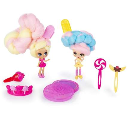 Candylocks, BFF 2 Pack, Kerry Berry & Beau Nana, Scented Collectible Dolls with Accessories