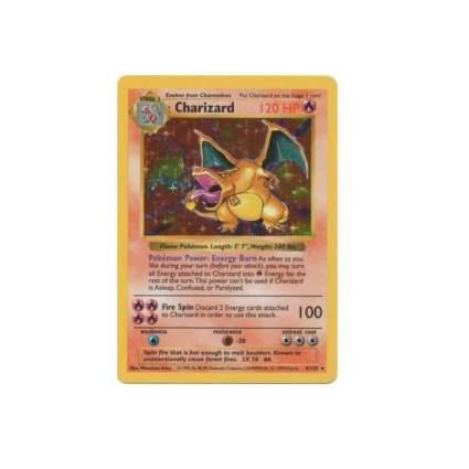 Charizard (4/102) - Basic Pokemon Card - Base - Shadowless - Holo
