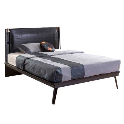 Cilek Dark Metal Bed Frame