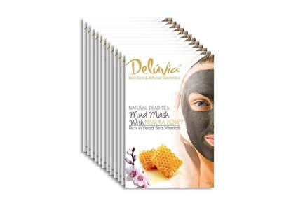 dead sea mud mask with manuka honey