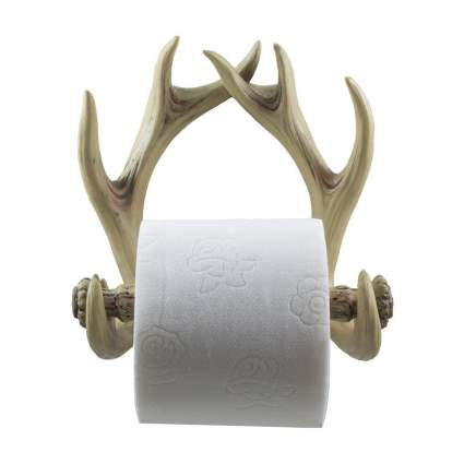 Decorative Deer Antlers Toilet Paper Holder