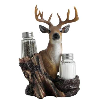 Deer Glass Salt and Pepper Shaker Set